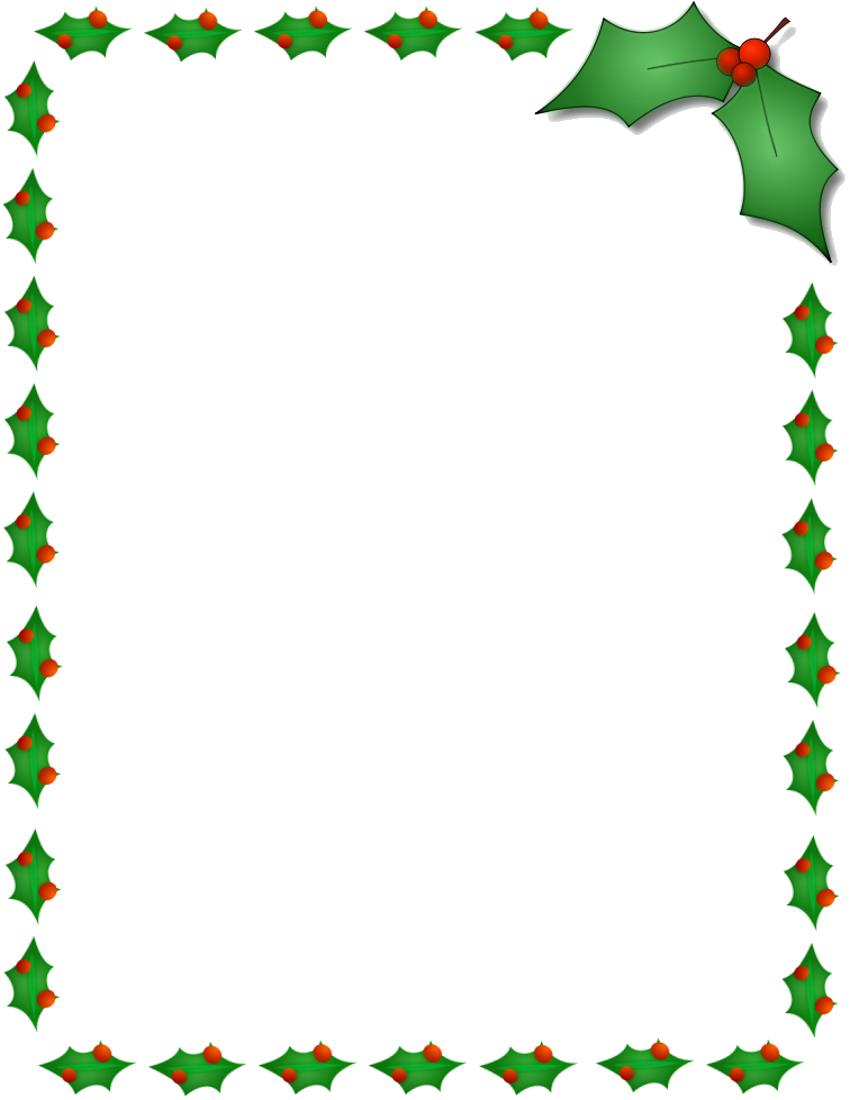 Christmas Border PNG Photos
