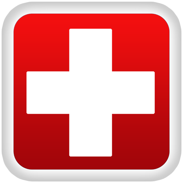 Red Cross PNG Image