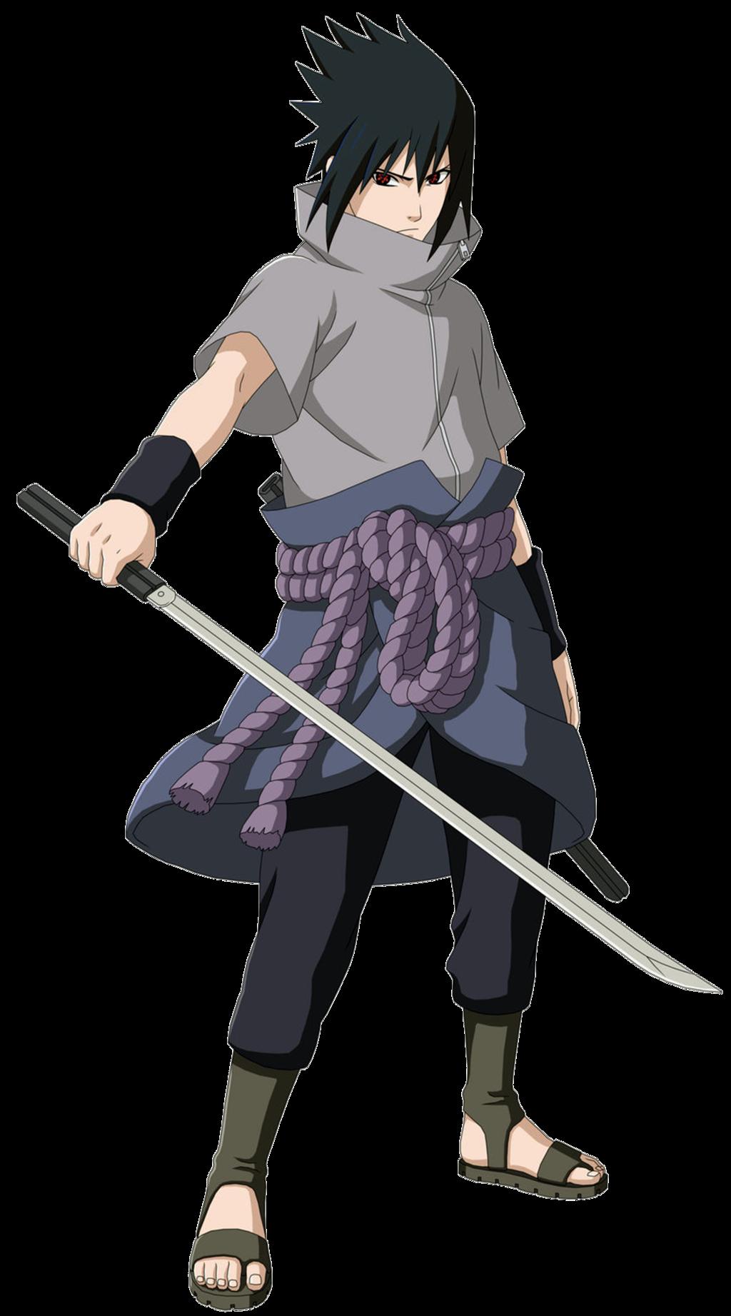 Uchiha Sasuke PNG Transparent Image