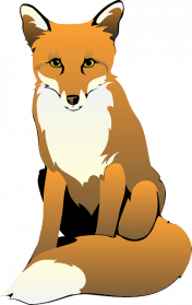 Artistic Fox PNG File