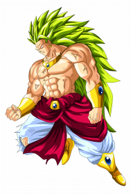Dragon Ball Broly PNG Picture