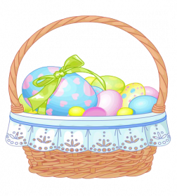Easter Basket PNG File