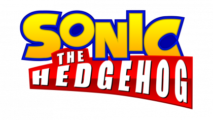 Sonic The Hedgehog Logo PNG File