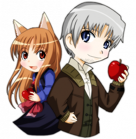 Spice And Wolf PNG Transparent Image