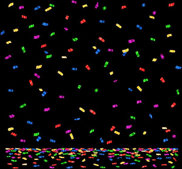 Confetti PNG Image