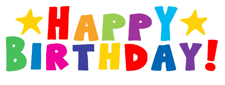 Happy Birthday PNG Image
