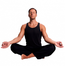 Meditating PNG Transparent Image