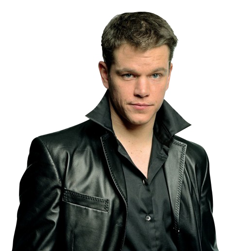 Matt Damon Transparent Background