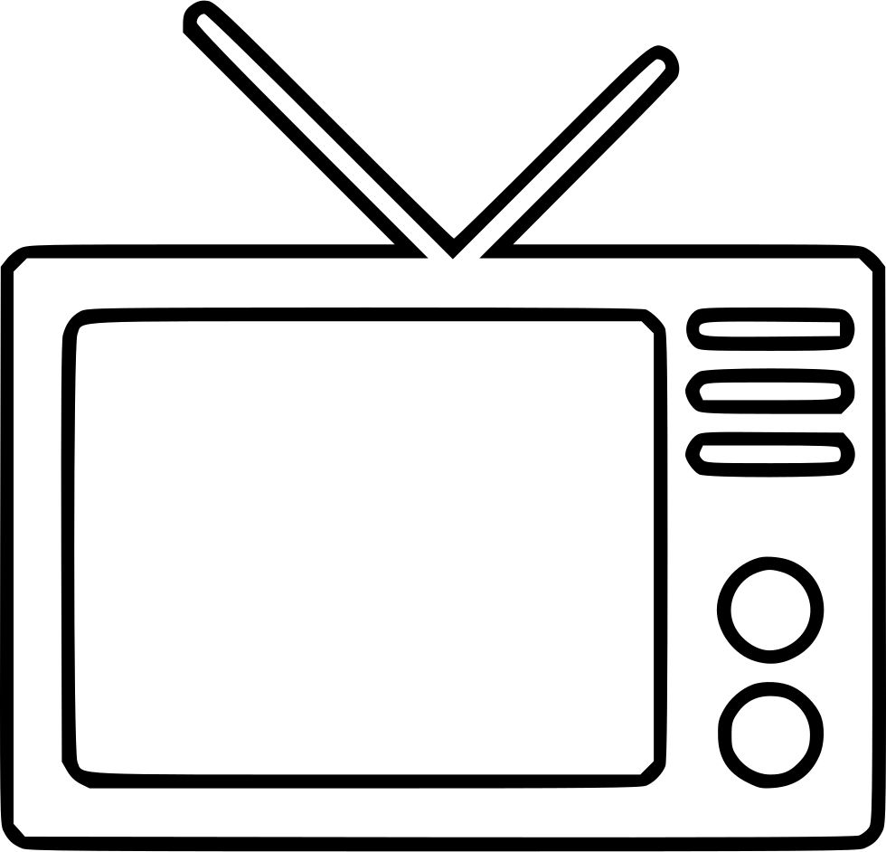 Television Transparent Background