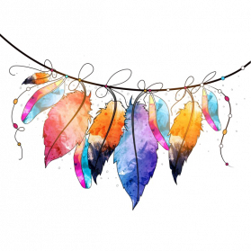 Abstract Watercolor PNG Picture