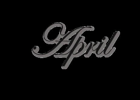 April PNG Image