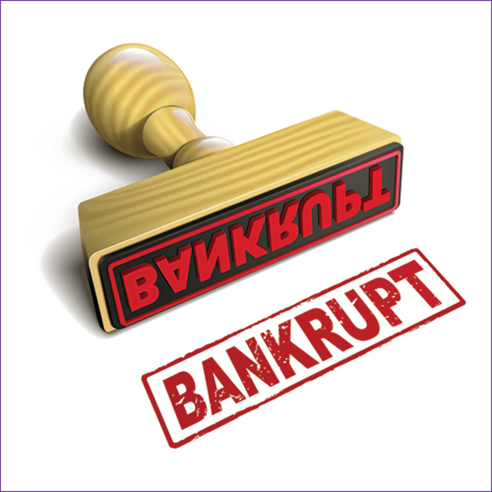 Bankrupt PNG Transparent HD Photo