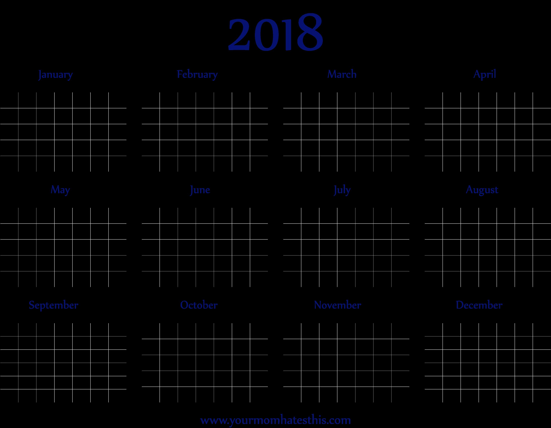 Calendar PNG Background Image