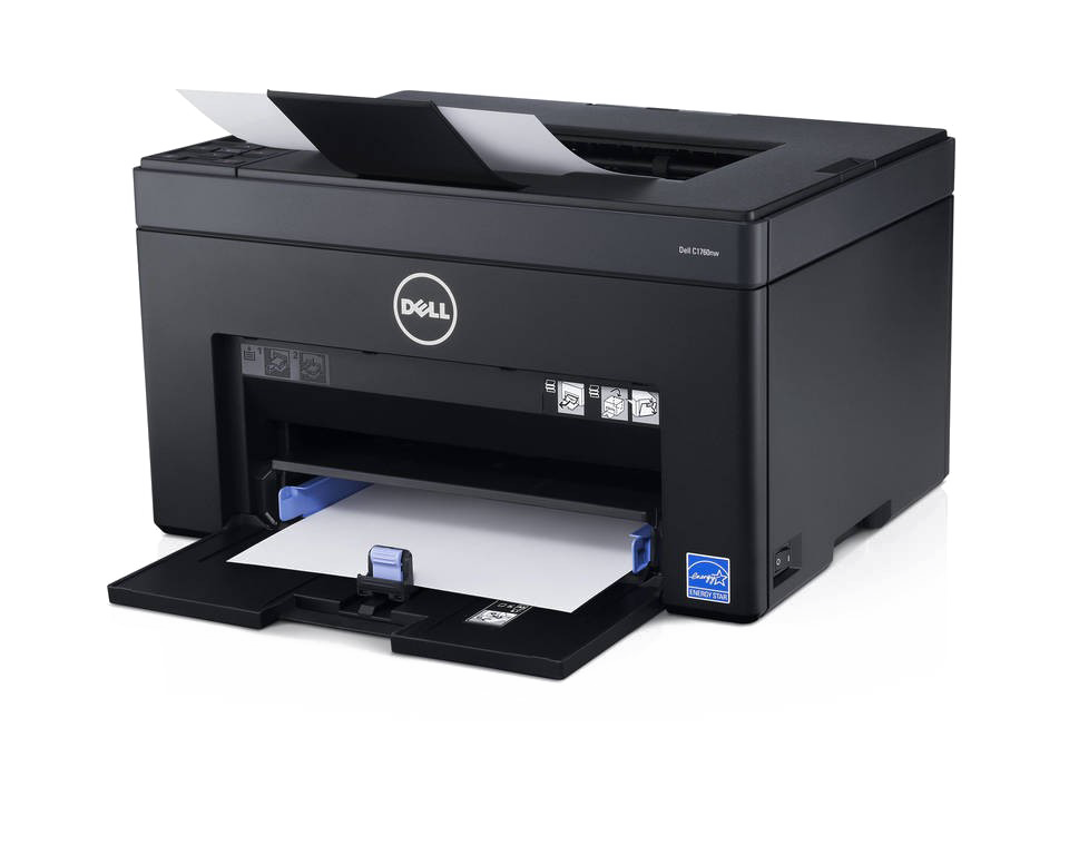 Colored Printer PNG Image