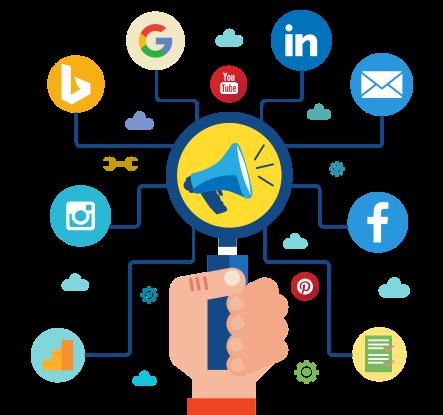 Digital Marketing PNG Image