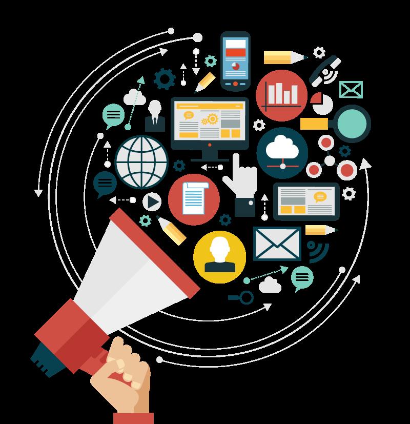 Digital Marketing PNG Transparent Image