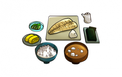 Japanese Breakfast PNG Photos