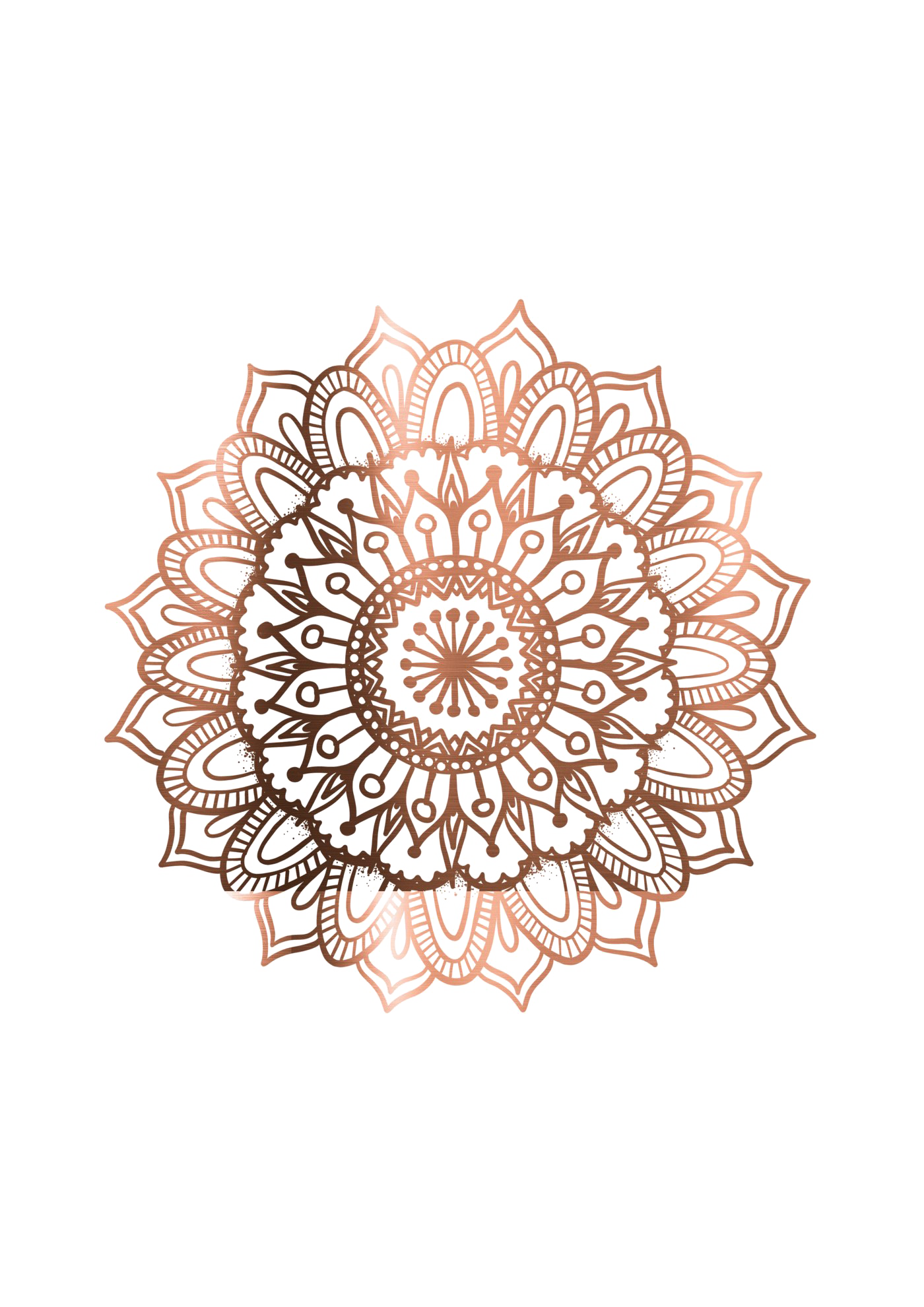 Mandala PNG Transparent Picture