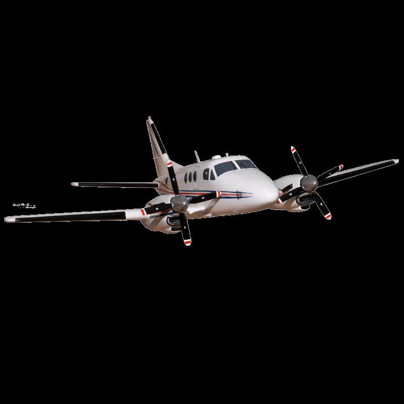 Modern Plane Transparent PNG