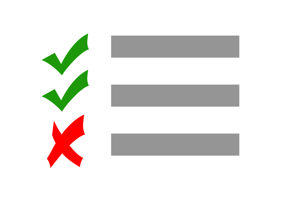 Checklist PNG Clipart