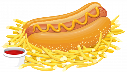 Hot Dog PNG Transparent File